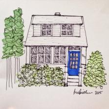 Pen & Ink House Sketch