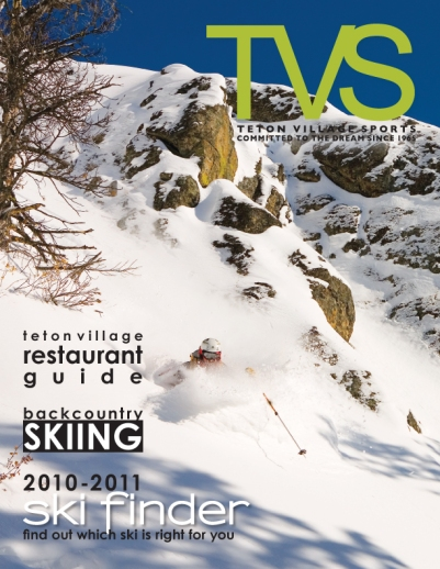 Magazine Cover Design - Teton Village Sports 2011 Annual Magazine Cover